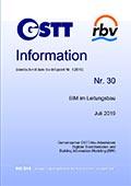 GSTT Information Nr. 30